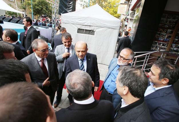 Yavuz, Ankara basınıyla çıkartma yaptı