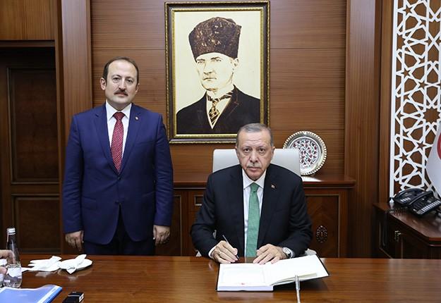 Cumhurbaşkanı Erdoğan, Bayburt'ta