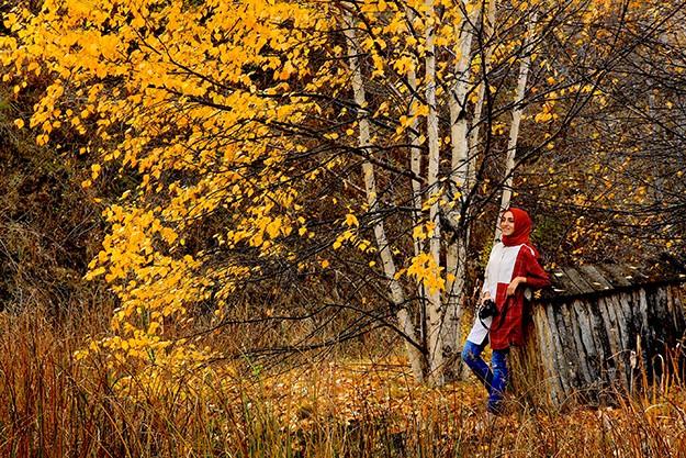 Bayburt'ta sonbahar renkleri