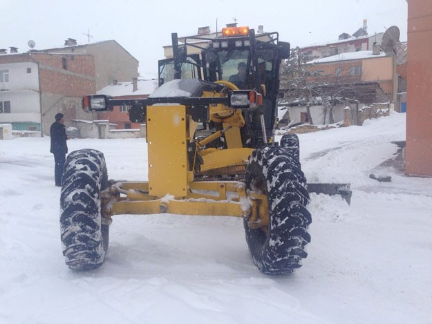 Doğu Karadeniz'de kar mücadelesi