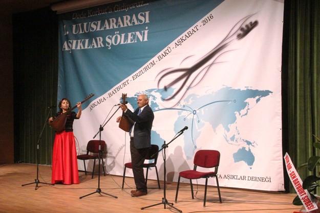 Bayburt'ta Uluslararası Âşıklar Şöleni