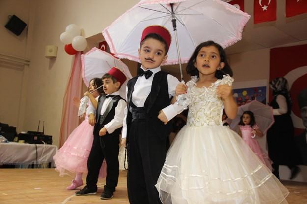 Bayburt'ta '23 Nisan' coşkusu