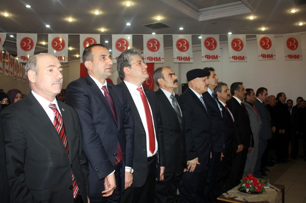 MHP Aday Tanıtım Toplantısı (Bayburt)