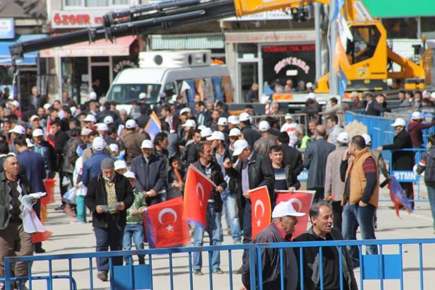 Başbakan Davutoğlu, Bayburt'ta