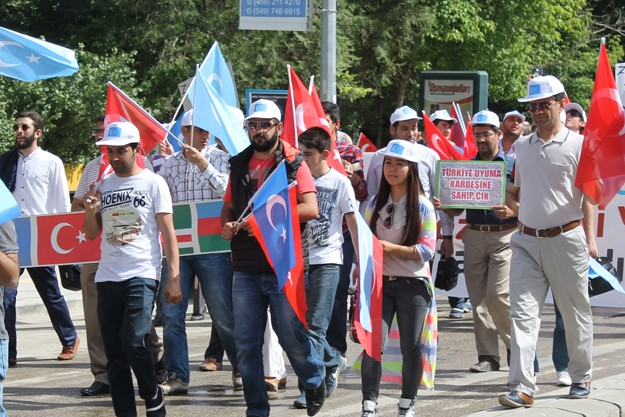 Bayburt, Uygur Türkleri için ayakta