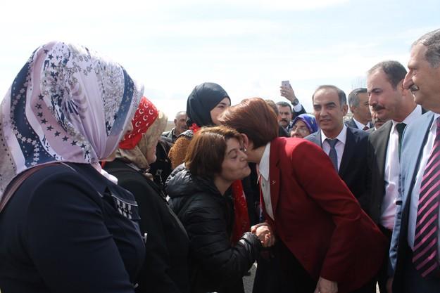 Meral Akşener, Bayburt'ta
