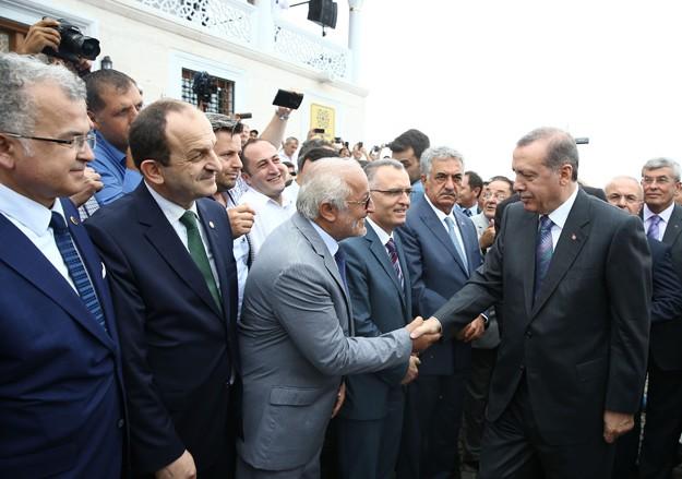 Cumhurbaşkanı Erdoğan Rize'de