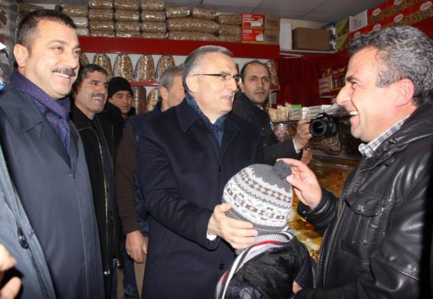 Ağbal ve Kavcıoğlu Bayburt'ta