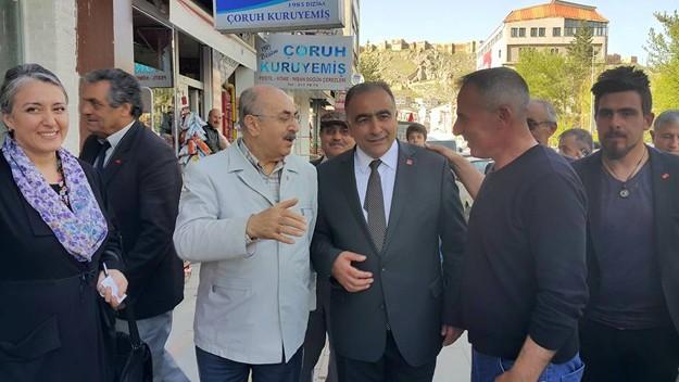 Ali Haydar Öner Bayburt'ta