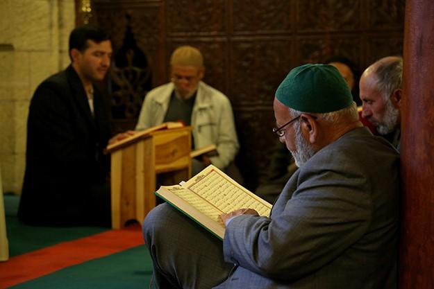 Tarihi üç camide mukabele geleneği