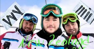 Türk Milli Kayak Takımı Yeni Zelanda kampında
