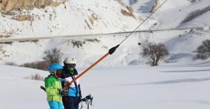 Kop Dağı'nda kayak sezonu başladı (2017)
