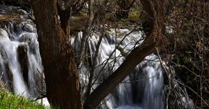 Sırakayalar Şelalesi'nde ilkbahar güzelliği