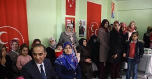 MHP seçim irtibat bürosu açtı