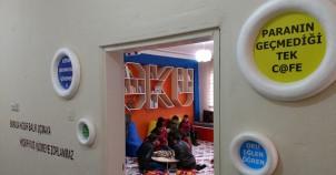 Çocuklara ait 'ilk' köy odası: Kıraat Kafe