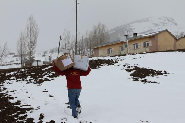 Ultraslan köy okullarında