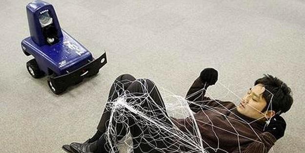 10 kilometre hız yapabilen robot polisler