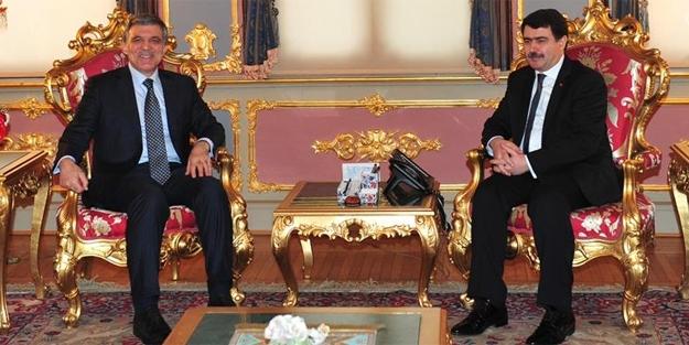 11. Cumhurbaşkanı, Vali Şahin'i ziyaret etti