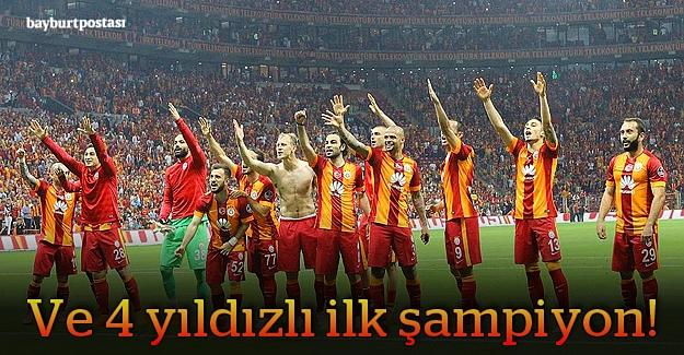 2014-2015 Süper Lig Şampiyonu Galatasaray