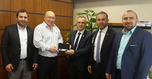 Ağbal'a mecliste ilk ziyaret