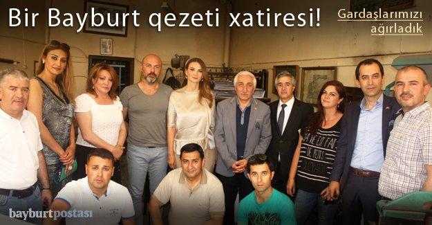 """Azerbaycan'dan """"gardaşlarımızı"""" ağırladık"""