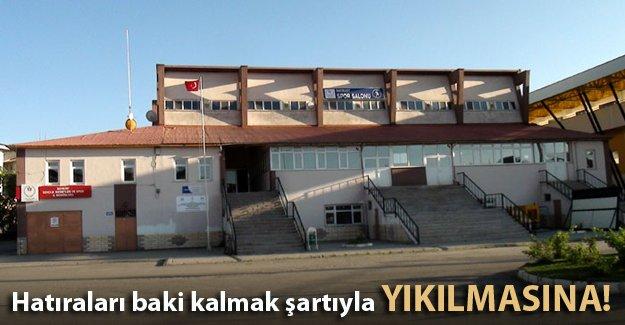 O binanın yıkılmasına karar verildi!