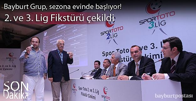 Spor Toto 2. ve 3. Lig Fikstürü çekildi