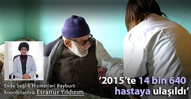 14 bin 640 hastaya evde sağlık hizmeti