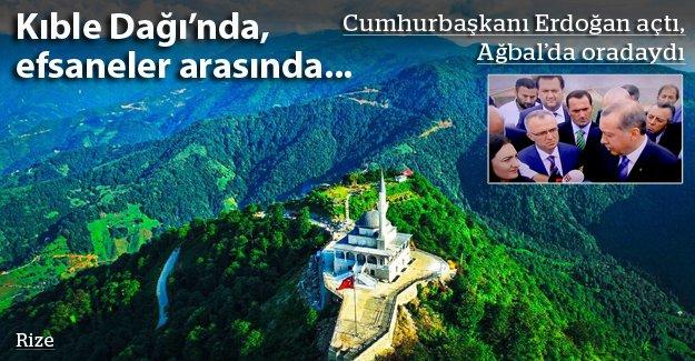 Erdoğan açtı, Ağbal da oradaydı