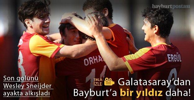 Galatasaray'dan Bayburt'a 'bir yıldız' daha!