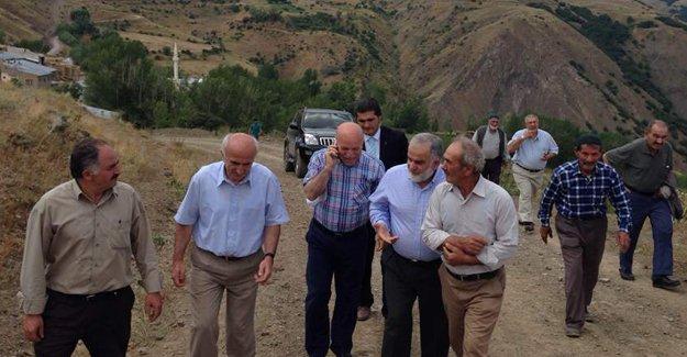Köy ziyaretleri sürüyor
