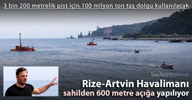 Rize-Artvin Havalimanı'nda sondaj çalışmaları bitti