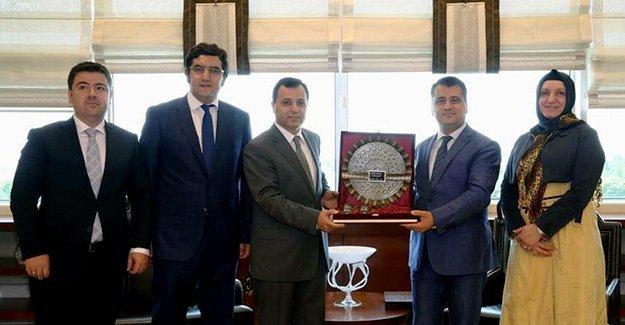 Taştan'dan, Anayasa Mahkemesi Başkanı Arslan'a ziyaret