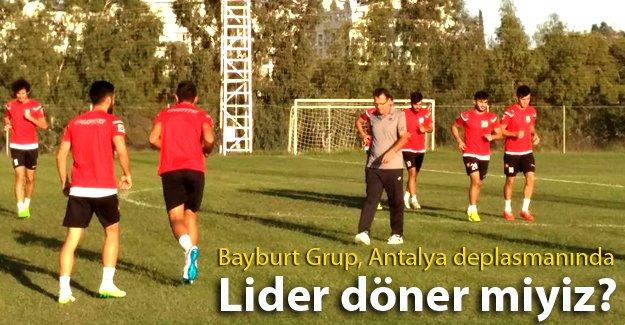 Bayburt Grup Antalya deplasmanında