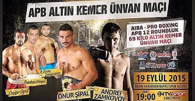 Şipal'in dünya unvan maçı Erzurum'da