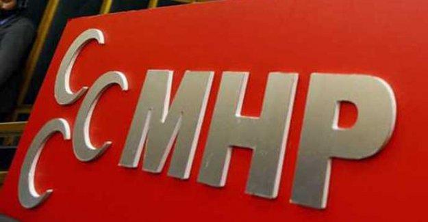 MHP merkez ilçede görev değişimi