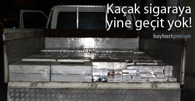 36 bin paket kaçak sigara ele geçirildi