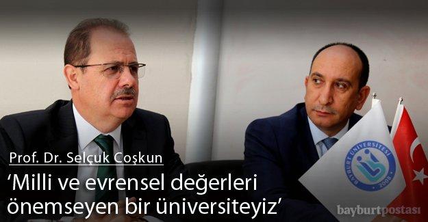 Bayburt Üniversitesi'nde akademik kurul toplandı