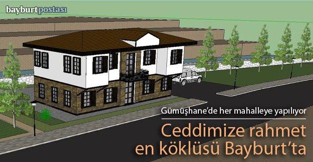Gümüşhane Belediyesi 'taziye evi' yapıyor