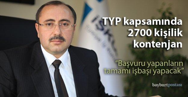 TYP kapsamında 2700 kişilik kontenjan