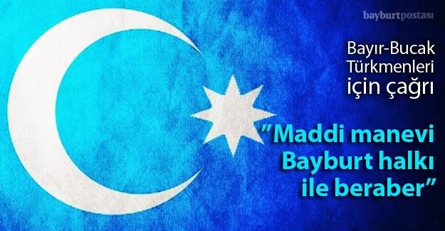 Bayır-Bucak Türkmenleri için çağrı