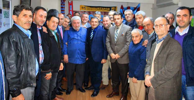 Hekimoğlu, Bayburtlu delegelerden destek bekliyor