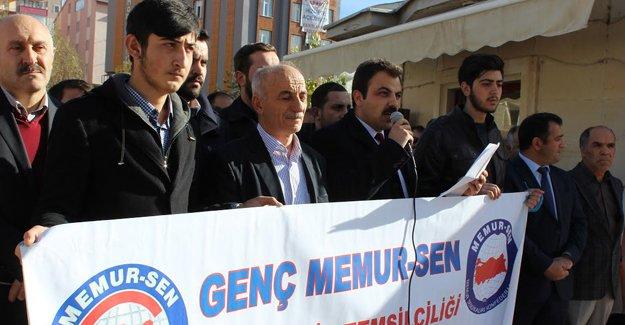 Memur-Sen 'Türkmen katliamını' kınadı