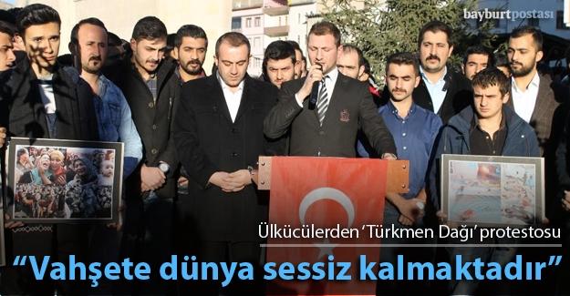 Ülkücüler, Türkmen katliamını kınadı