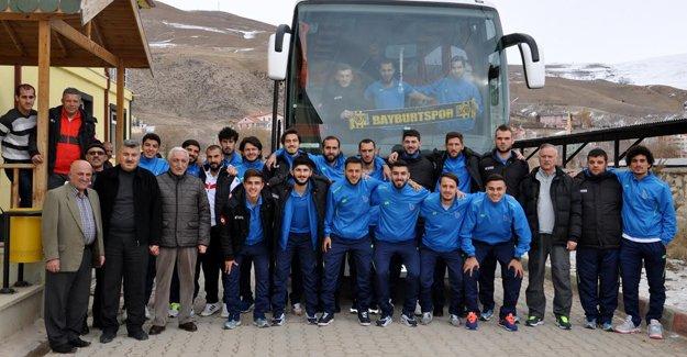 Bayburt Grup, Antalya'ya uğurlandı