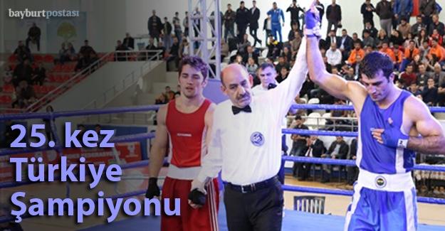 Önder Şipal 25. kez Türkiye Şampiyonu