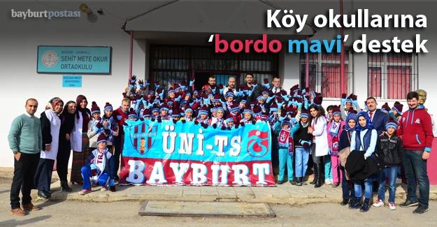 Trabzonsporlular Kulübü'nden öğrencilere hediye