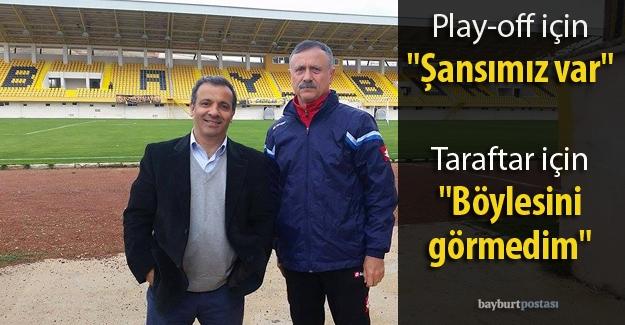 Bayburt Grup, play-off için umutlu