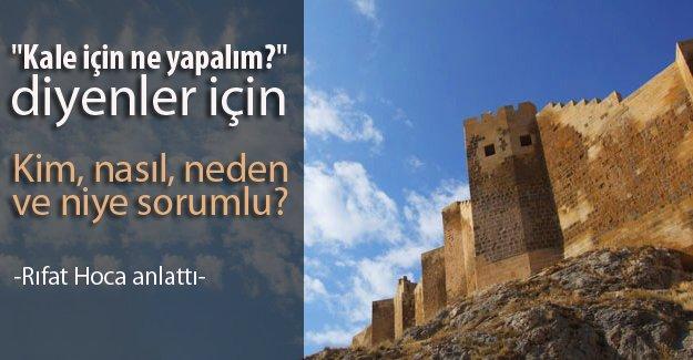 Bayburt Kalesi'nin korunmasından kim sorumlu?