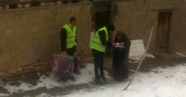 MÜS-DER, kış yardımlarına devam ediyor